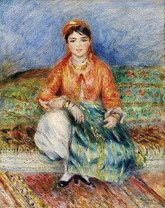 Pierre-Auguste Renoir (1841-1919)  Algerian Girl