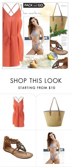 """""""What to Wear"""" by mycherryblossom ❤ liked on Polyvore featuring Packandgo and greekislands"""