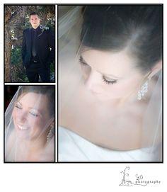 Beautiful Bride with Groom waiting