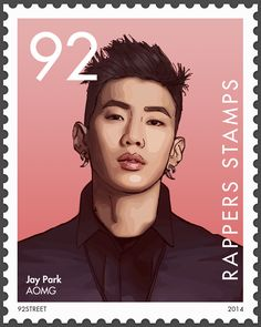 [Rappers Stamps] AOMG ¾ Jay Park Version