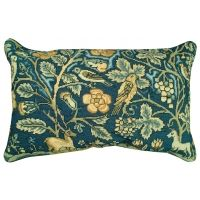 Needlepoint English Tapestry Stag / Unicorn Pillow