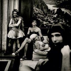 Larry Mullen Jr., Adam Clayton, Bono, and The Edge in Berlin, February 1992. Photography ANTON CORBIJN
