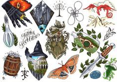 LOTR Flash by Daisyhillflash on Etsy