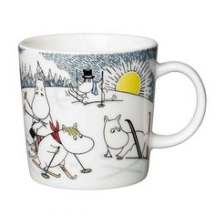 It's finally here - the Moomin Winter Mug 2014 - Skiing with Mr Brisk!
