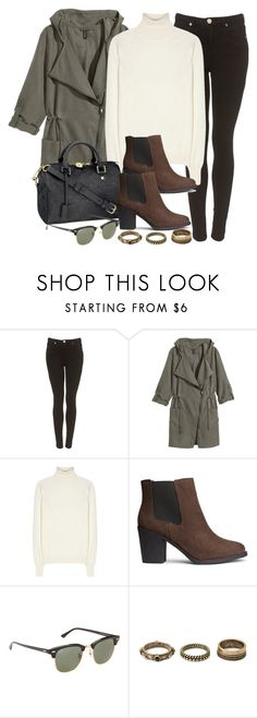 """Style #9469"" by vany-alvarado ❤ liked on Polyvore featuring H&M, Victoria Beckham, Louis Vuitton, Ray-Ban and Forever 21"