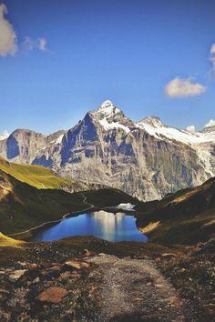 Bachalpsee, Berner Oberland, Switzerland