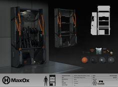 Star Citizen_Modular Weapons Racks, Ken Fairclough on ArtStation at https://www.artstation.com/artwork/star-citizen_modular-weapons-racks