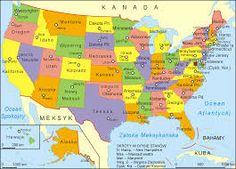 Podział na stany - USA
