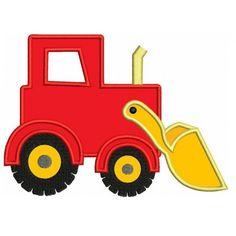 Machine Embroidery Dance Applique Designs | ... Bulldozer Construction Truck Machine Embroidery Applique Design
