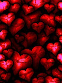 Сердечки - анимация на телефон №1201643