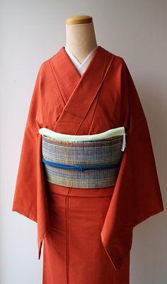 ちぇらうなぼるた雑記帳 Yukata Kimono, Kimono Design, Japanese Beauty, Japanese Kimono, Traditional Outfits, Absolutely Stunning, Bell Sleeve Top, Dress Up, Clothes