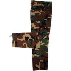 Pantalon US Ranger Camuflaje Woodlan Mil Tec Mujer / XT1822