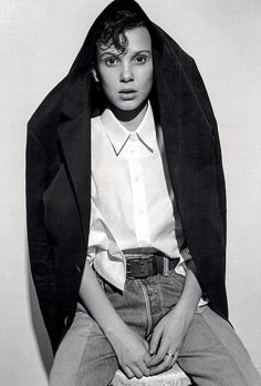 Millie Bobby Brown was recently photographed for Dazed in a chic denim look that we 100% plan on recreating this season. The Stranger Things star donned a sleek blazer, a classic white button-down shirt and a pair of belted contrasting jeans.