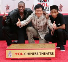 Congratulations, Jackie Chan! On Thursday, Chan became the first Chinese actor to have his hand and footprints cemented at the TCL Chinese Theatre in Hollywood.