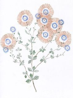 Wandering Summer  Print by myfolklover on Etsy, $25.00