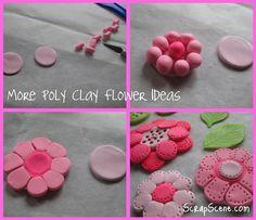 Polymer Clay Flower Ideas