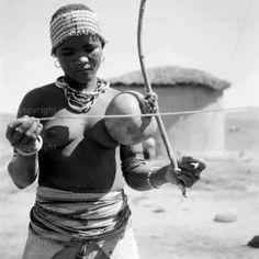 Berimbau africano.