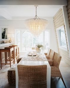 get the look :: beachy chandelier