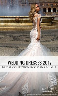 Oksana Mukha Wedding Dresses 2017 ❤ If you are looking for something a little bit special and sophisticated Oksana Mukha wedding dresses are for you. See more:  http://www.weddingforward.com/oksana-mukha-wedding-dresses/ #wedding #dresses #2017