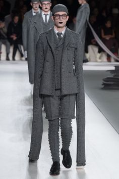 c641a5d5e13 Thom Browne Fall 2017 Menswear Collection Photos - Vogue Bad Fashion