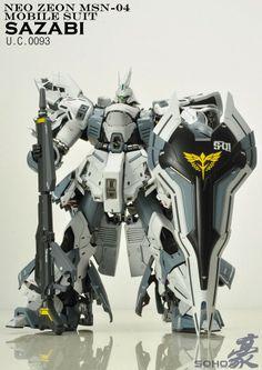 MG 1/100 Sazabi Ver.Ka - Customized Build