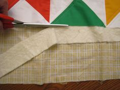 The Easiest Cheat for Binding a Quilt   Prudent Baby