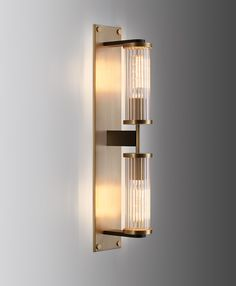 Alouette Linear Sconce | Jonathan Browning Studios (Information based on light antique bronze finish as pictured)       Model #: 1506, list: $4725, net: $3150, lead time: 10-12 weeks depending stock