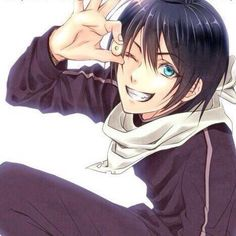 Find images and videos about art, anime and noragami on We Heart It - the app to get lost in what you love. Yato And Hiyori, Noragami Anime, Manga Anime, Anime Art, Sailor Moon, Yatori, Anime Lindo, Poses References, Film D'animation