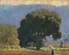 Daniel Garber (American, 1880-1958) > Dans la vallée de
