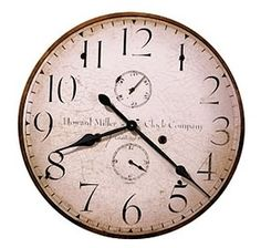 Moment in Time Clock: Original Howard Miller III 620-314 Wall Clock at The Clock Depot featuring Antique Reproduction Wall Clocks and discount antique clocks