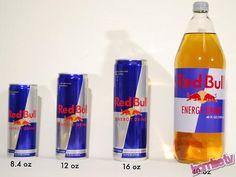 Tous les formats de Red Bull