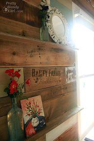 Reclaimed Wood Wall:)
