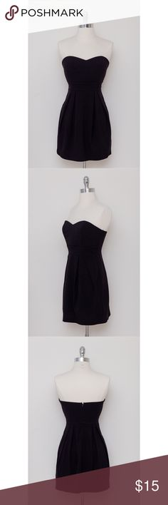 Strapless Black Dress This is a strapless black dress featuring an empire waist. This is the perfect LBD for any occasion! It's simple but such a classic look! Pair it with some accessories and heels to really emphasize your personal style! Lightly worn. Star Vixen Dresses Strapless