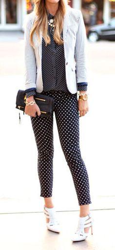 Stripes + dots