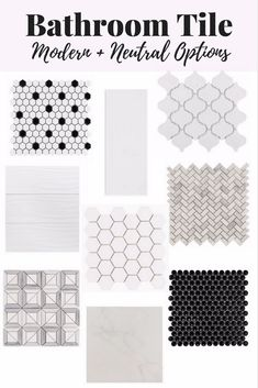 Big renovations can be so overwhelming (and expensive) but they don't have to be! Here's a quick review of Floor & Decor, the perfect store to meet all of your tile and other renovation needs. And, y'all, they're crazy affordable! White Bathroom Tiles, Bathroom Floor Tiles, Master Bathroom, Modern Bathroom, Black And White Tiles, Best Flooring, Bathroom Renovations, Bathroom Ideas, Bathroom Inspiration