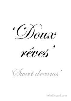 ♔  'Sweet dreams'
