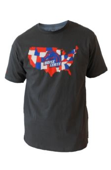 "Boise State Broncos ""The Nation"" T-Shirt $26.00"