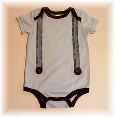 diy suspenders onsies