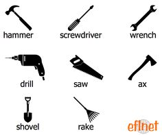 mechanical tools names and pictures pdf