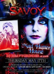 #Mad Hatter Party feat. #DJHeavyGrinder  #SantaBarbara #TheSavoySB http://eventsubmit.net/event.php?id=21176 (SBA)