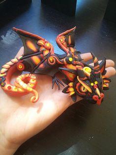 Vatra Baby Dragon by MakoslaCreations on Etsy, $80.00