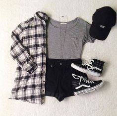 Girls Fashion Clothes, Teen Fashion Outfits, Retro Outfits, Cute Casual Outfits, Outfits For Teens, Stylish Outfits, Fashion Fashion, Fashion Ideas, Fashion Black