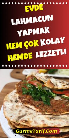 Evde Çok Lezzetli Lahmacunlar Yapabilirsin in the the Healthy Eating Tips, Healthy Nutrition, Healthy Chicken Recipes, Beef Recipes, Juice Recipes, Fat Peach, Smoothie Mix, Meat Appetizers, Eating Clean
