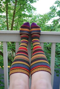 Ravelry: Dr. Who Scarf Knee-High Socks pattern by Lesley Brownlee