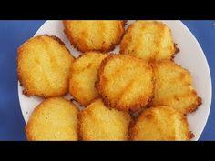 GALLETAS DE COCO (keto, cetogenicas)SIN GLUTEN - YouTube Keto Recipes, Healthy Recipes, Keto Desserts, Healthy Food, Galletas Keto, Comida Keto, Sin Gluten, Waffles, Paleo