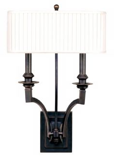 "Mercer Double Light 19 3/4"" High Old Bronze Wall Sconce - #F3889 