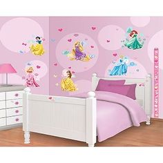 Muursticker Prinses Disney Decor Kit