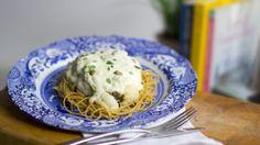 Cauliflower and Caper Pasta Cauliflower, Pasta, Breakfast, Recipes, Food, Morning Coffee, Cauliflowers, Recipies, Essen
