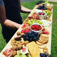 Amazing cheese board pine plank from Bunnings