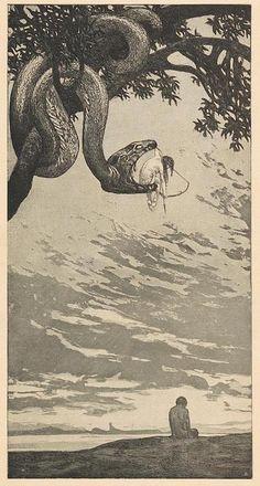 Disturbing and Provocative Art, sepiapath: Fritz Hegenbart